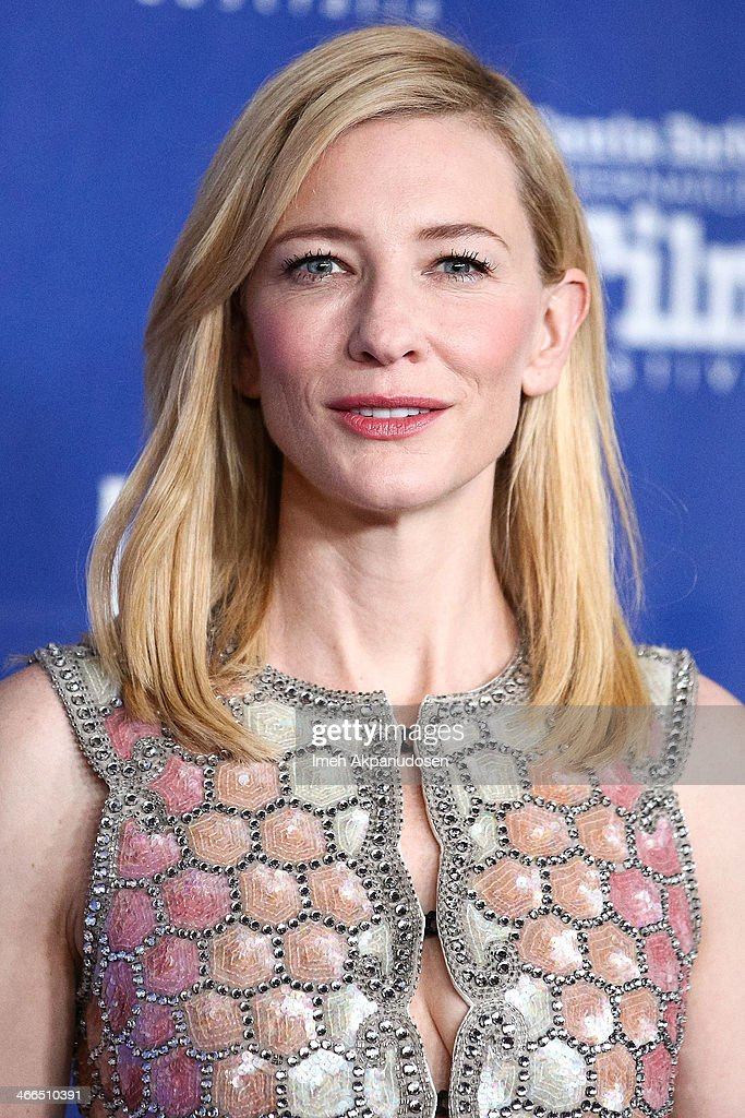 Actress Cate Blanchett attends the presentation of the Outstanding Performer Of The Year Award at the Arlington Theatre during the 29th Santa Barbara International Film Festival on February 1, 2014 in Santa Barbara, California.