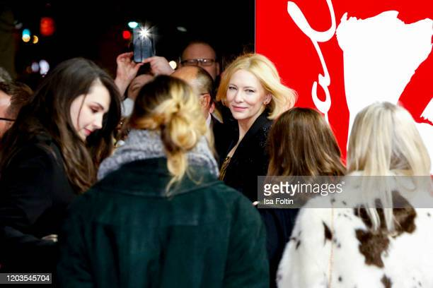 Actress Cate Blanchett attends the Stateless premiere during the 70th Berlinale International Film Festival Berlin at Zoo Palast on February 26 2020...