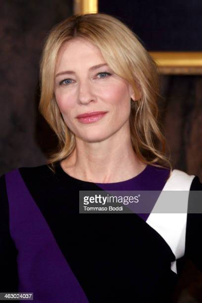 """Actress Cate Blanchett attends the """"The Monuments Men"""" Los Angeles photo call held at the Four Seasons Hotel Los Angeles at Beverly Hills on January..."""