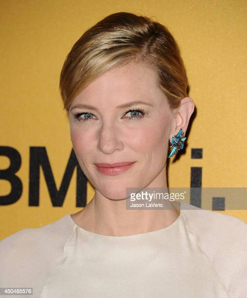 Actress Cate Blanchett attends the Women In Film 2014 Crystal Lucy Awards at the Hyatt Regency Century Plaza on June 11 2014 in Century City...