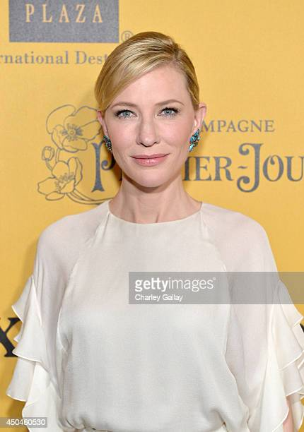 Actress Cate Blanchett attends Women In Film 2014 Crystal Lucy Awards presented by MaxMara BMW PerrierJouet and South Coast Plaza held at the Hyatt...