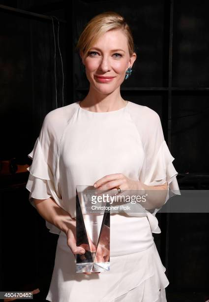 Actress Cate Blanchett, Crystal Award for Excellence in Film award recipient, attends Women In Film 2014 Crystal + Lucy Awards presented by MaxMara,...