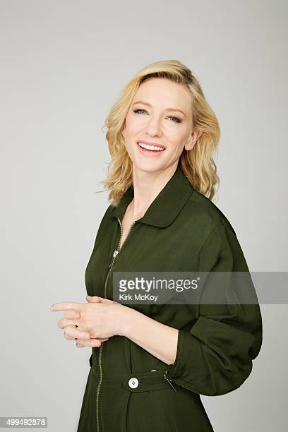Actress Cate Blanchett is photographed for Los Angeles Times on November 13 2015 in Los Angeles California PUBLISHED IMAGE CREDIT MUST READ Kirk...