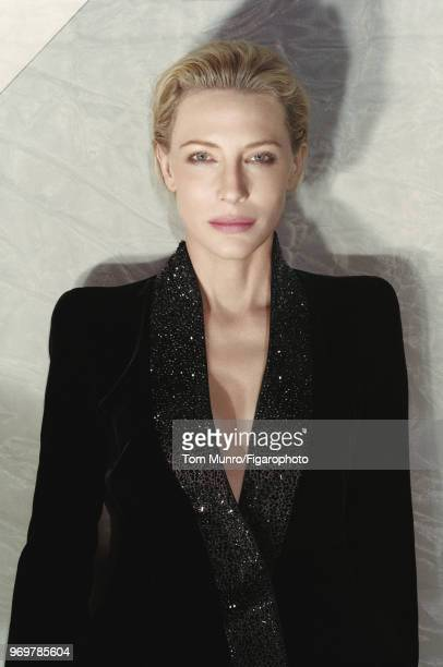 Actress Cate Blanchett is photographed for Madame Figaro on May 9 2017 in New York City Coat by Giorgio Armani COVER IMAGE CREDIT MUST READ Tom...