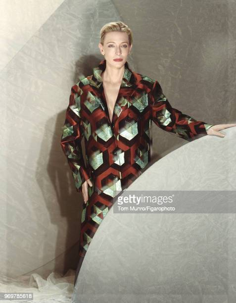 Actress Cate Blanchett is photographed for Madame Figaro on May 9 2017 in New York City Coat by Diers Van Noten PUBLISHED IMAGE CREDIT MUST READ Tom...