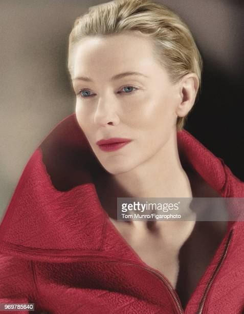 Actress Cate Blanchett is photographed for Madame Figaro on May 9 2017 in New York City Coat by Giorgio Armani PUBLISHED IMAGE CREDIT MUST READ Tom...