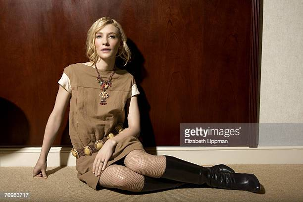 Actress Cate Blanchett is photographed for the Boston Globe on December 19 2006 in New York City PUBLISHED IMAGE