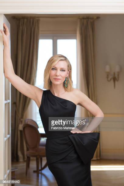 Actress Cate Blanchett is photographed for The Hollywood Reporter on May 2018 in Cannes France