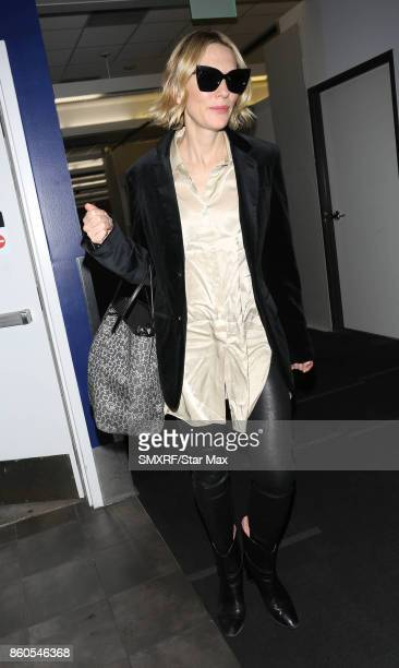 Actress Cate Blanchett is seen on October 11 2017 in Los Angeles California