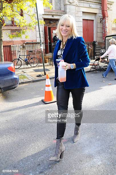 Actress Cate Blanchett is seen on set of 'Ocean's Eight' on November 2 2016 in New York City