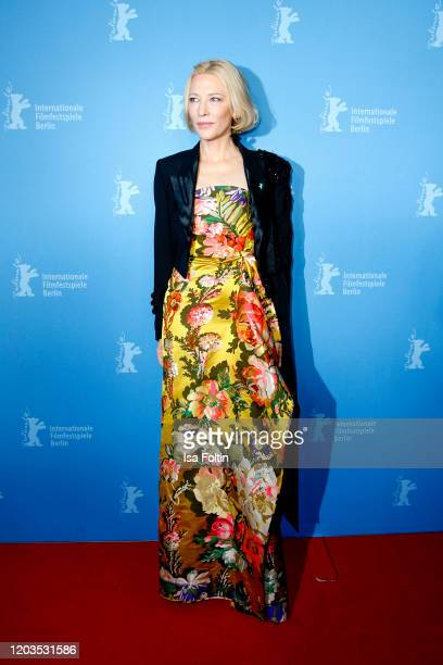 Actress Cate Blanchett poses at the Stateless premiere during the 70th Berlinale International Film Festival Berlin at Zoo Palast on February 26 2020...