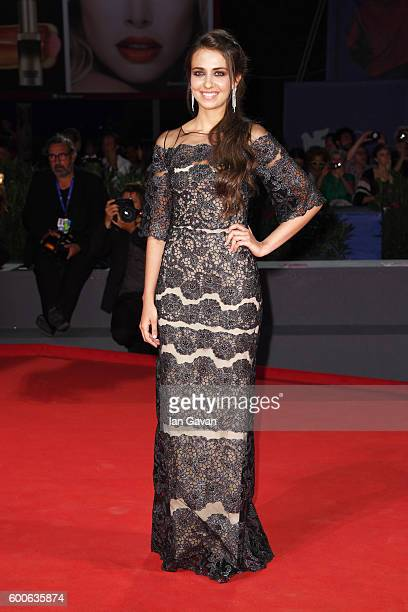 Actress Caterina Le Caselle attends the premiere of 'Questi Giorni' during the 73rd Venice Film Festival at Sala Grande on September 8 2016 in Venice...