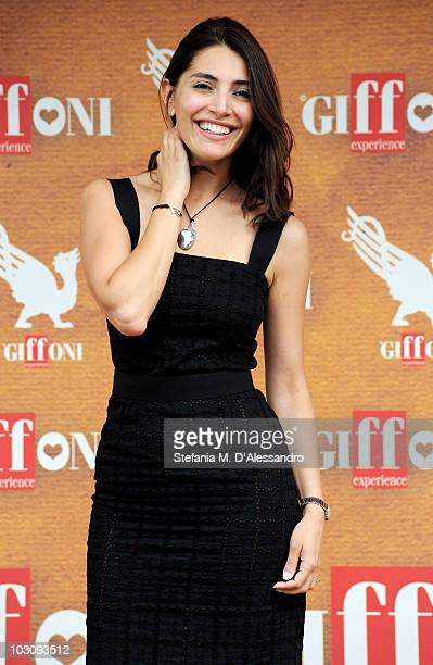 Actress Caterina Murino attends a photocall during the Giffoni Experience 2010 on July 26 2010 in Giffoni Valle Piana Italy