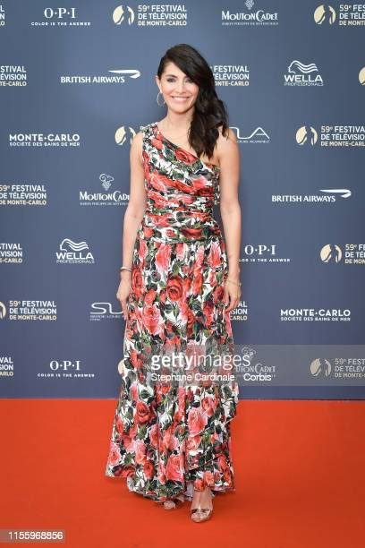 Actress Caterina Murino attends the opening ceremony of the 59th Monte Carlo TV Festival on June 14, 2019 in Monte-Carlo, Monaco.
