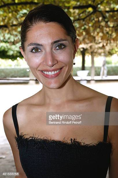 Actress Caterina Murino attends the 'Qeelin' high Jewellery Exhibition opening Cocktail 'Mogoaku in Paris' at Jardin du Palais Royal on June 30 2014...