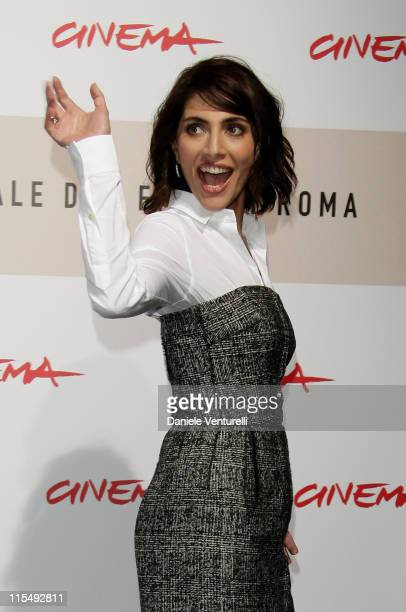 Actress Caterina Murino attends the 'The Garden Of Eden' Photocall during the 3rd Rome International Film Festival held at the Auditorium Parco della...