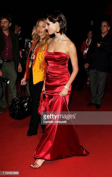 Actress Caterina Murino attends the 'The Garden Of Eden' premiere during the 3rd Rome International Film Festival held at the Auditorium Parco della...