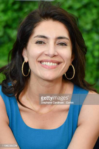 "Actress Caterina Murino from the TV serie ""Le Temps Est Assassin"" attends the 59th Monte Carlo TV Festival : Day Three on June 16, 2019 in..."