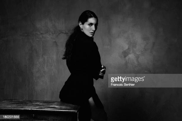 Actress Caterina Murino is photographed for The Blind Magazine on July 30 2013 in Paris France