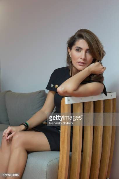 Actress Caterina Murino poses for a portrait during the 12th Rome Film Festival on October, 2017 in Rome, Italy. .