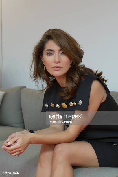 Actress Caterina Murino poses for a portrait during the 12th Rome Film Festival on October 2017 in Rome Italy