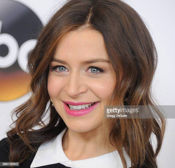 Actress Caterina Scorsone arrives at the Disney ABC Television Group TCA Summer Press Tour at the Beverly Hilton Hotel on August 4 2016 in Beverly...