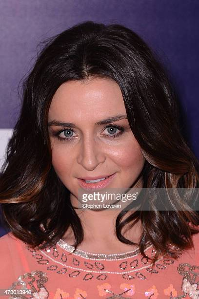 Actress Caterina Scorsone attends the Entertainment Weekly and PEOPLE celebration of The New York Upfronts at The Highline Hotel on May 11 2015 in...