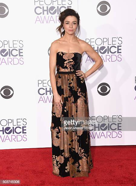 Actress Caterina Scorsone attends the People's Choice Awards 2016 at Microsoft Theater on January 6 2016 in Los Angeles California