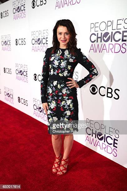 Actress Caterina Scorsone attends the People's Choice Awards 2017 at Microsoft Theater on January 18 2017 in Los Angeles California