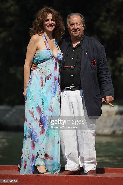 Actress Caterina Varzi and director Tinto Brass are seen during the 66th Venice Film Festival on September 10, 2009 in Venice, Italy.