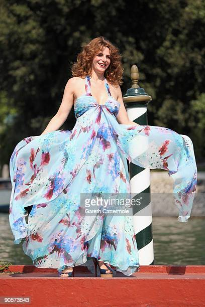 Actress Caterina Varzi is seen during the 66th Venice Film Festival on September 10, 2009 in Venice, Italy.