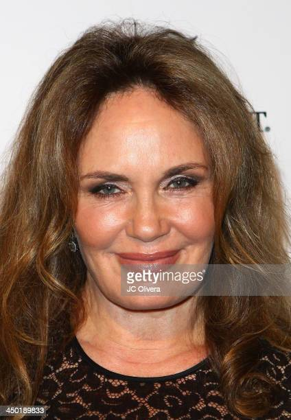 Actress Catherine Bach attends The Los Angeles Police Protective League Eagle Badge Foundation's 12th Anniversary 'In The Line Of Duty' Awards at JW...