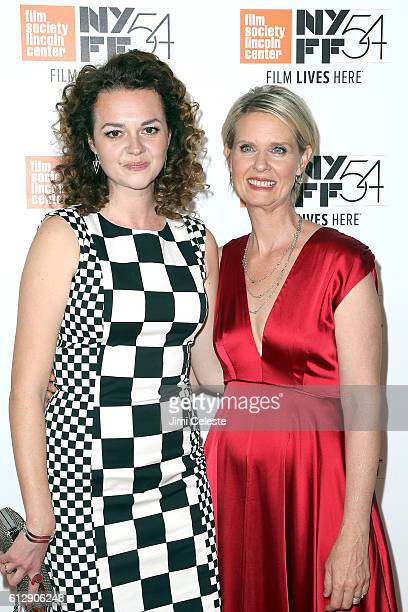 Actress Catherine Bailey and Actress Cynthia Nixon attending the 54th New York Film Festival Neruda and A Quiet Passion Screenings at Alice Tully...