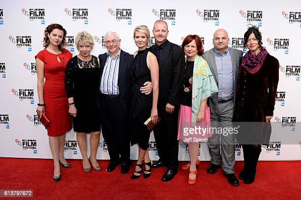 Actress Catherine Bailey Joanna Bacon director Terence Davies actress Cynthia Nixon producer Roy Boulter Clare Stewart Director of the BFI London...