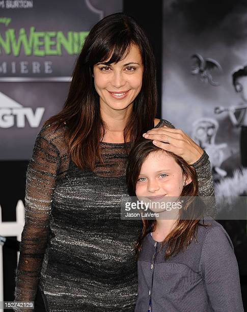 Actress Catherine Bell and daughter Gemma Beason attend the premiere of Frankenweenie at the El Capitan Theatre on September 24 2012 in Hollywood...