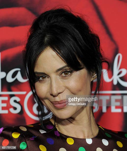 Actress Catherine Bell arrives at Hallmark Channel And Hallmark Movies And Mysteries Winter 2017 TCA Press Tour at The Tournament House on January 14...