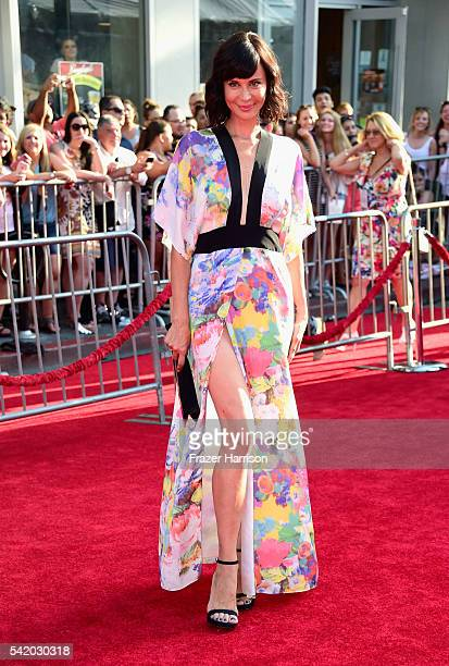 Actress Catherine Bell attends Disney's 'The BFG' premiere at the El Capitan Theatre on June 21 2016 in Hollywood California
