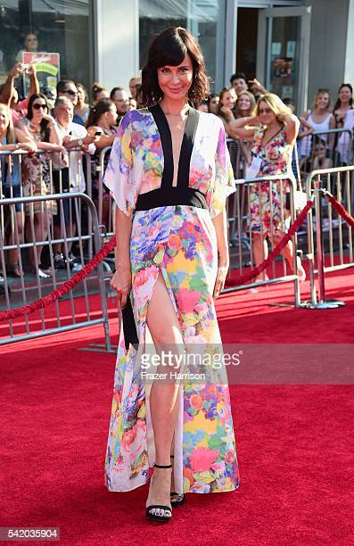 Actress Catherine Bell attends Disney's The BFG premiere at the El Capitan Theatre on June 21 2016 in Hollywood California