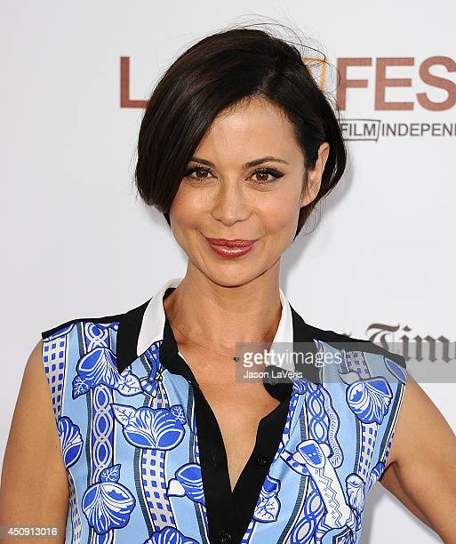 """Actress Catherine Bell attends the 2014 Los Angeles Film Festival closing night film premiere of """"Jersey Boys"""" at Premiere House on June 19, 2014 in..."""