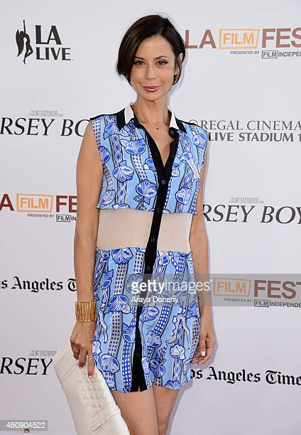 Actress Catherine Bell attends the closing night film premiere of 'Jersey Boys' during the 2014 Los Angeles Film Festival at Premiere House on June...