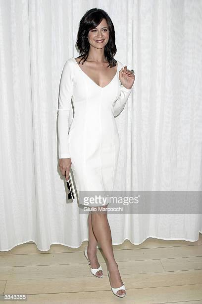 Actress Catherine Bell attends the Paramount Network Television and CBS celebration of 200 Episodes of JAG at The Mondrian/Asia de Cuba April 12 2004...