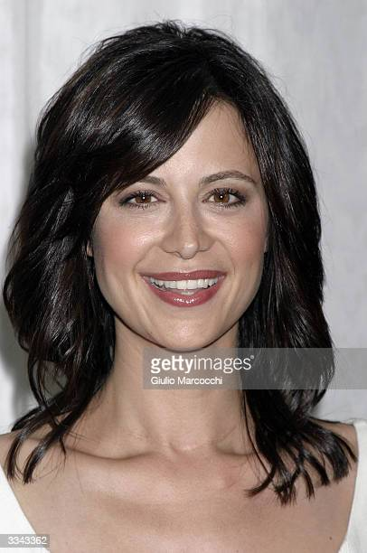 """Actress Catherine Bell attends the Paramount Network Television and CBS celebration of 200 Episodes of """"JAG"""" at The Mondrian/Asia de Cuba April 12,..."""