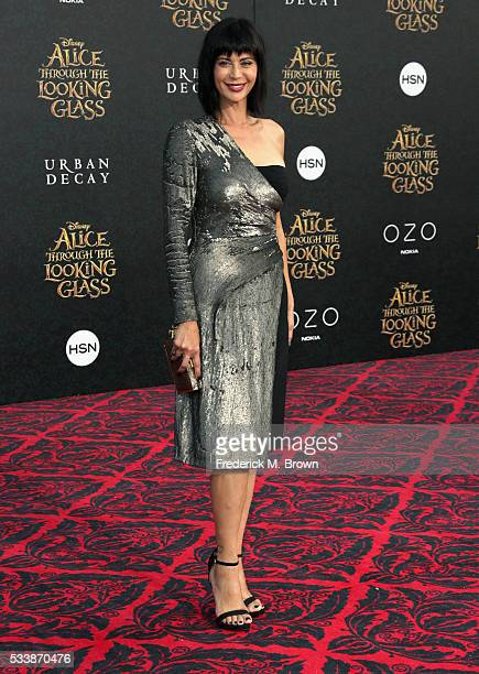 Actress Catherine Bell attends the premiere of Disney's Alice Through The Looking Glass at the El Capitan Theatre on May 23 2016 in Hollywood...
