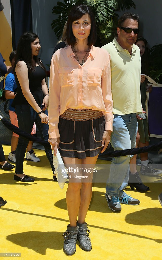Actress Catherine Bell attends the premiere of Universal Pictures' 'Despicable Me 2' at the Gibson Amphitheatre on June 22, 2013 in Universal City, California.