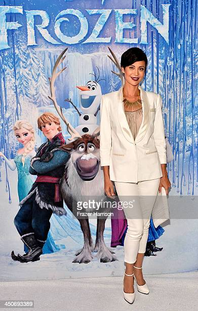 Actress Catherine Bell attends the premiere of Walt Disney Animation Studios' 'Frozen'at the El Capitan Theatre on November 19 2013 in Hollywood...