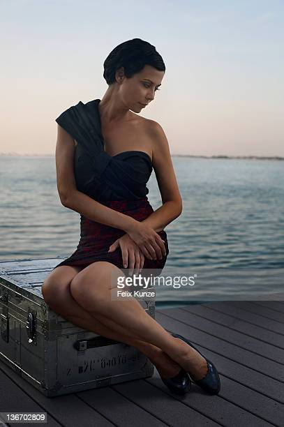 Actress Catherine Bell is photographed for Self Assignment on May 6, 2011 in Miami, Florida.