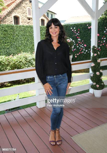 Actress Catherine Bell visit Hallmark's Home Family at Universal Studios Hollywood on June 7 2018 in Universal City California