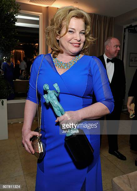 Actress Catherine Curtin attends the Weinstein Company Netflix's 2016 SAG after party hosted by Absolut Elyx at Sunset Tower on January 30 2016 in...