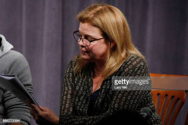 Actress Catherine Curtin on stage during The Hamptons International Film Festival's Screenplay Reading of Mickey and the Bear at The Actors Company...