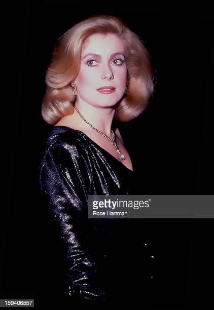 Actress Catherine Deneuve attends a film party at the Museum of Modern Art New York New York 1996